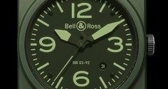 BELL & ROSS Instrument BR03-92 Military Ceramic