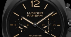 PANERAI Luminor 1950 Tourbillon GMT Ceramica PAM00396