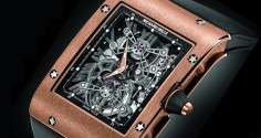 RICHARD MILLE RM 017 Tourbillon Extra Plat en or rose
