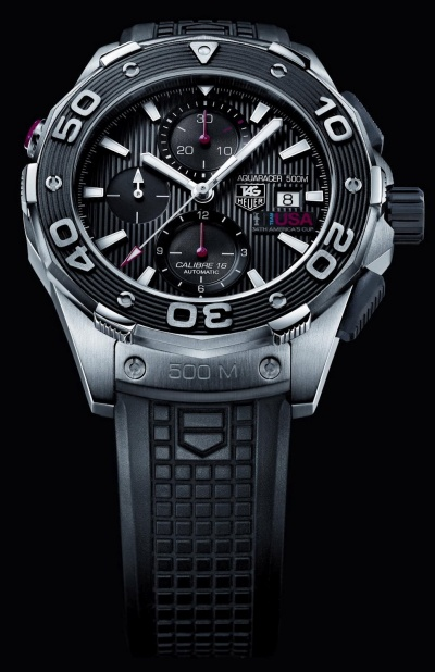 "TAG HEUER aquaracer 500m ""Oracle Team USA"" – 34ème America's Cup"