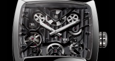 "TAG HEUER Monaco V4 ""Next Generation"" Titanium Ruthenium Ceramic"