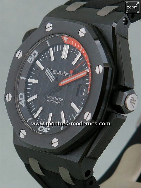 Audemars Piguet Royal Oak Offshore Diver Ceramic réf.15707CE - Image 3