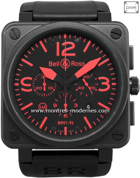 Bell&Ross BR 01-94 Chrono Red 500ex - Image 1