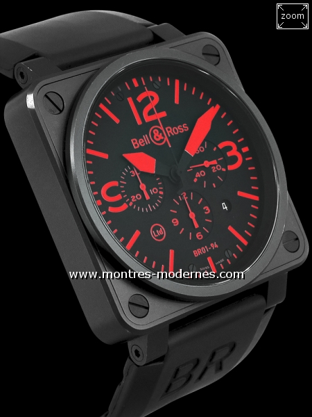 Bell&Ross BR 01-94 Chrono Red 500ex - Image 3