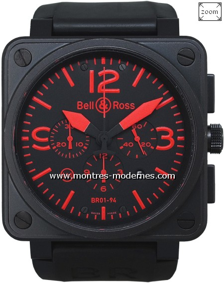 Bell&Ross BR 01-94-S Chrono Red Limited Edition 500ex. - Image 1