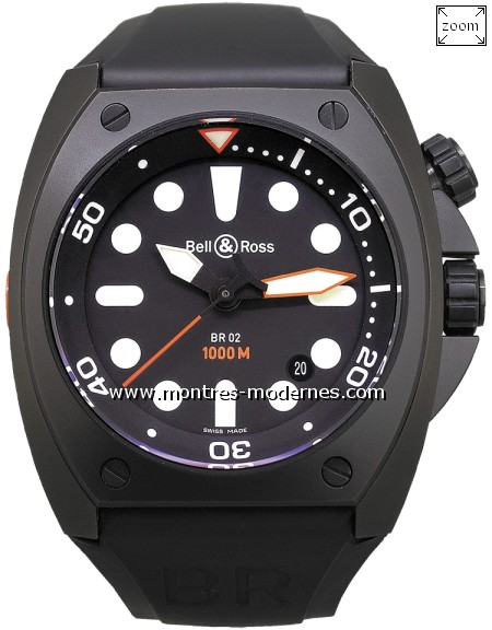 Bell&Ross BR 02-92 Pro Dial - Image 1