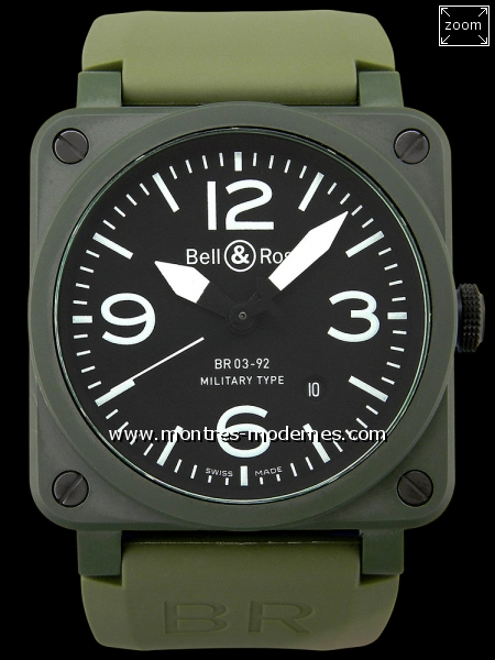Bell&Ross BR03-92 Military Type - Image 1