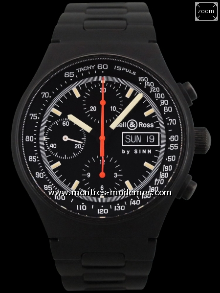 Bell&Ross Space 2 Chronographe By Sinn - Image 1