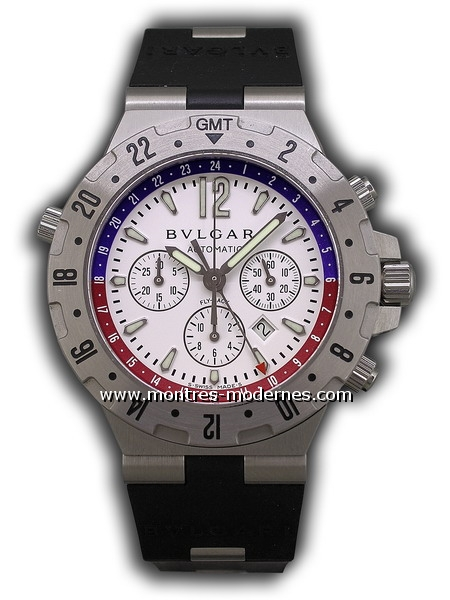 Bulgari Diagono Professional Chronographe GMT - Image 1