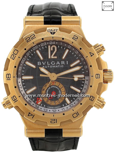 Bulgari Diagono Professional GMT - Image 1
