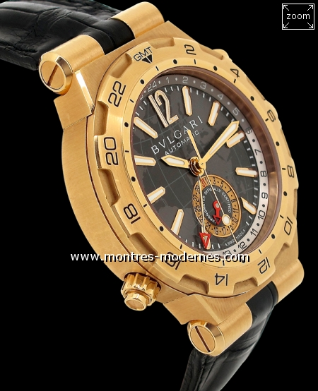 Bulgari Diagono Professional GMT - Image 3