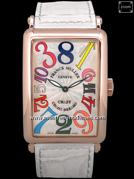 Franck Muller Long Island Crazy Color Dreams - Image 1