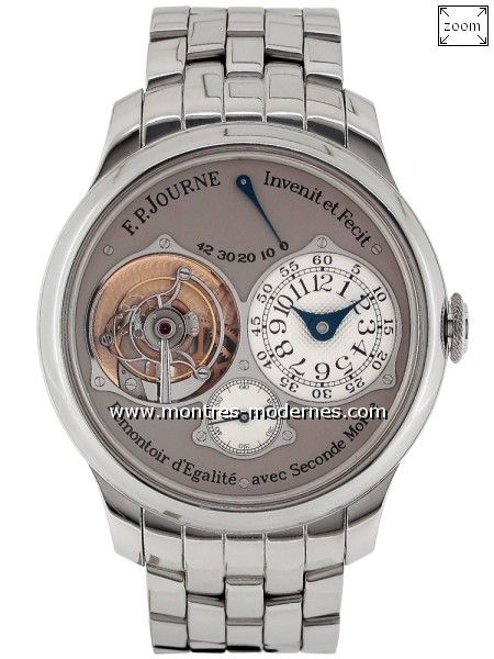 François Paul JOURNE Tourbillon Souverain Seconde Morte - Image 1