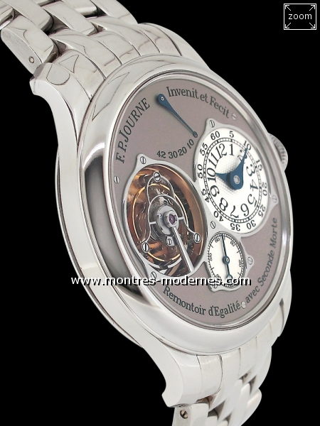 François Paul JOURNE Tourbillon Souverain Seconde Morte - Image 3