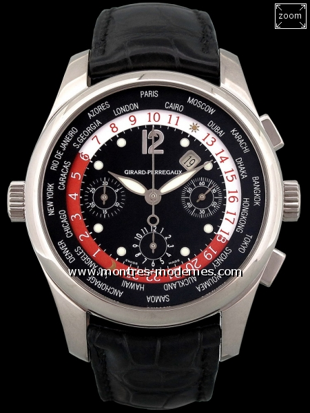 Girard Perregaux WWTC Chronographe à heure universelle  - Image 1