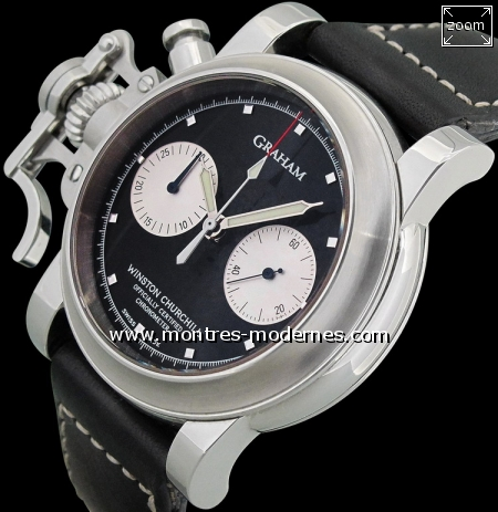 "Graham Chronofighter ""Tribute to Winston Churchill"" 100ex - Image 3"