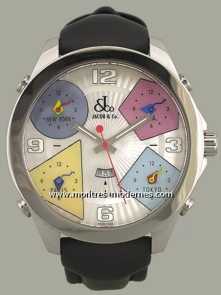 Jacob & Co. Five Time Zone - Image 1