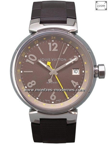 Louis Vuitton Tambour GMT Automatique réf.Q1132 - Image 1