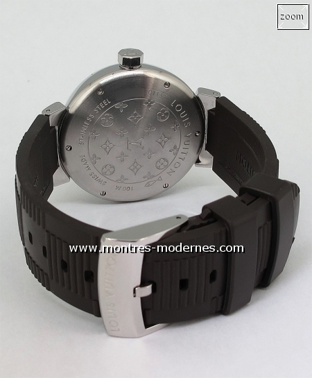 Louis Vuitton Tambour GMT Automatique réf.Q1132 - Image 4