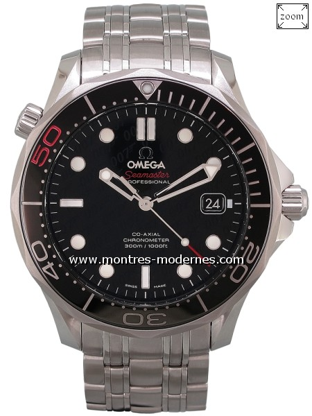 Omega Seamaster Diver 300M James Bond 50th Anniversary - Image 1