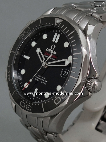 Omega Seamaster Diver Co-Axial réf.212.30.41.20.01.003 - Image 2