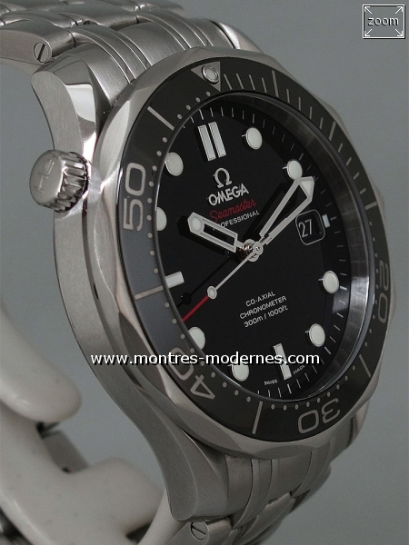 Omega Seamaster Diver Co-Axial réf.212.30.41.20.01.003 - Image 3