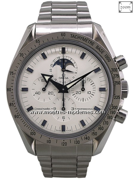 Omega Speedmaster Broad Arrow Moonphase réf.3575.20.00 - Image 1