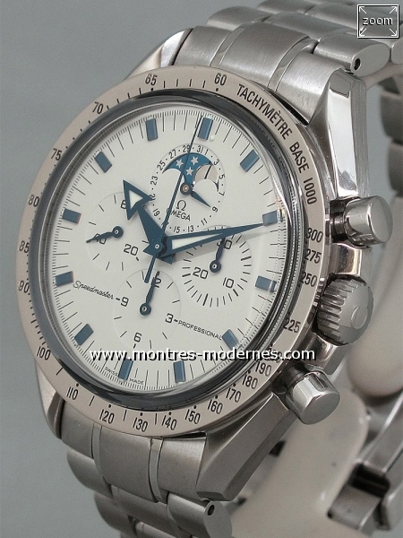 Omega Speedmaster Broad Arrow Moonphase réf.3575.20.00 - Image 2