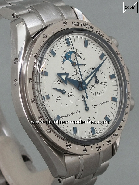 Omega Speedmaster Broad Arrow Moonphase réf.3575.20.00 - Image 3