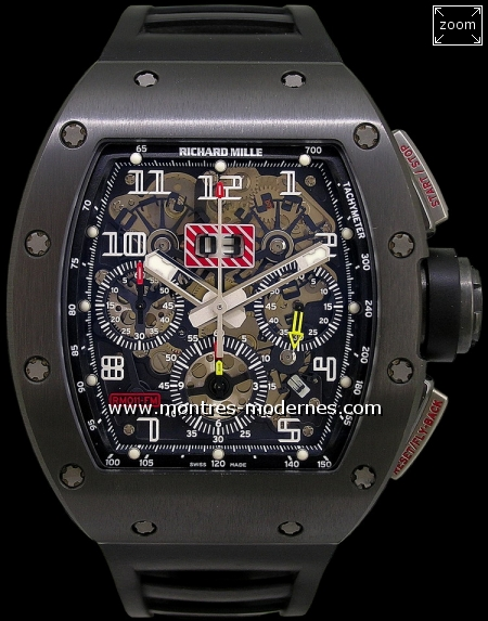 Richard Mille RM011 Felipe Massa Black Edition 30ex. - Image 1