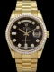 Rolex - Day-Date Lunette diamants baguette