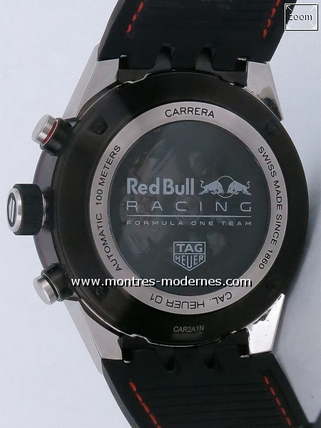 TAG Heuer Carrera Chrono Red Bull Racing Edition réf.CAR2A1N - Image 2