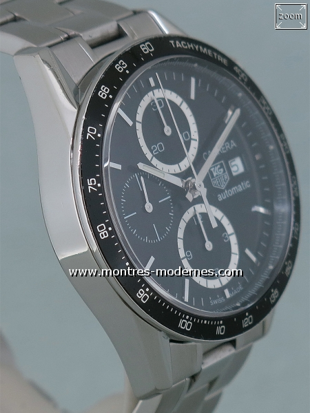 TAG Heuer Carrera Chronographe Automatique Calibre 16 - Image 3