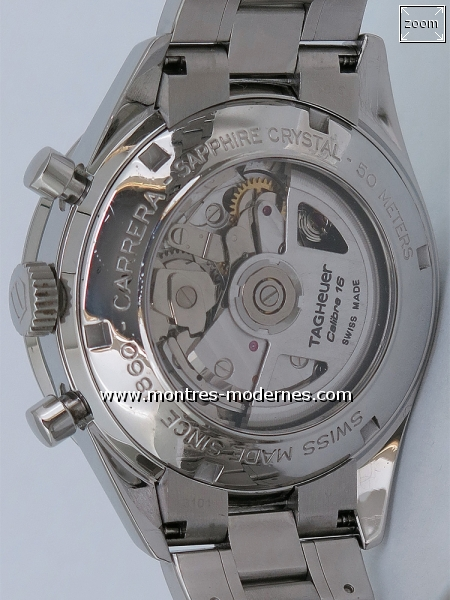 TAG Heuer Carrera Chronographe Automatique Calibre 16 - Image 4