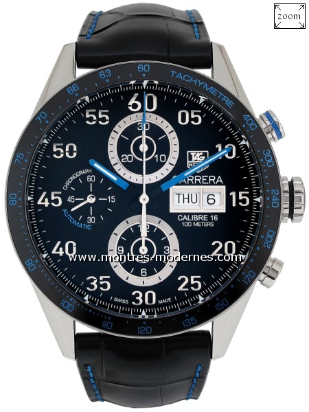 TAG Heuer Carrera Chronographe Day-Date Mastering Speed - Image 1