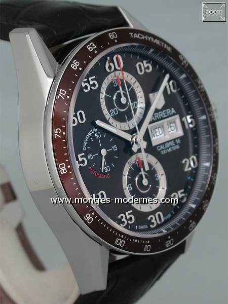 TAG Heuer Carrera Chronographe Day-Date réf.CV2A12 - Image 3