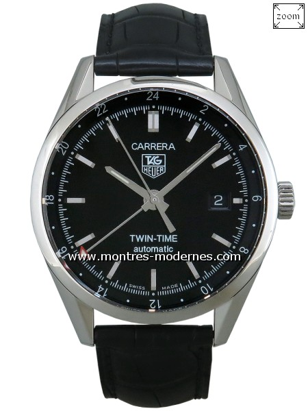 TAG Heuer Carrera Twin Time réf.WV2115-0 - Image 1