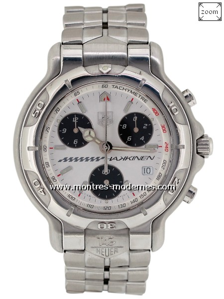 TAG Heuer Chronograph Hakkinen Limited Edition 1000ex. - Image 1