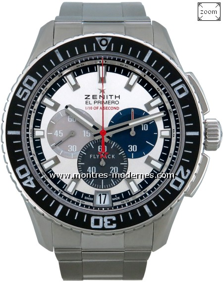 Zenith Stratos Flyback Striking 10th Chronograph réf.03.2062.4057 - Image 1