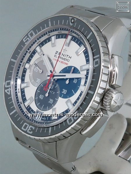 Zenith Stratos Flyback Striking 10th Chronograph réf.03.2062.4057 - Image 2