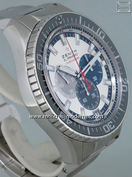 Zenith Stratos Flyback Striking 10th Chronograph réf.03.2062.4057 - Image 3